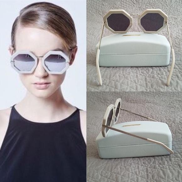 fdc5f7ae72a Karen Walker Accessories | Moon Disco 53mm Octagonal Sunglasses ...